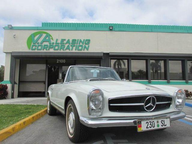 Mercedes For Sale >> 1964 Mercedes Benz 230 Sl Convertible For Sale Miami Fl 95 000 Motorcar Com