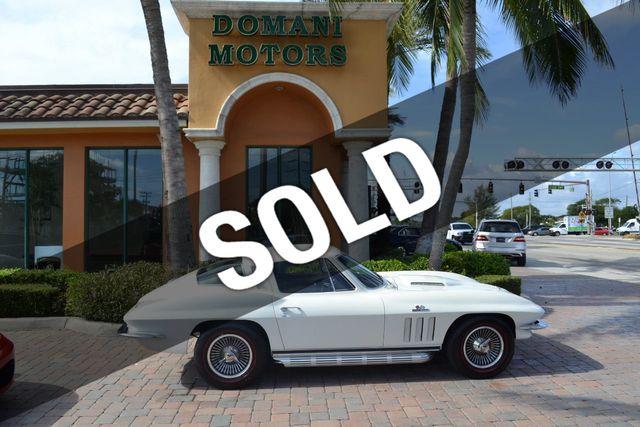 1965 Chevrolet Corvette Stingray 396/425hp turbojet engine! A/C!! 4 speed  Coupe for Sale Deerfield Beach, FL - $72,900 - Motorcar com
