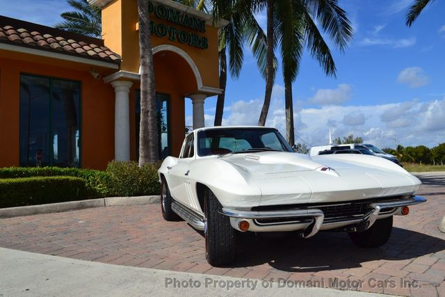 1965 Used Chevrolet Corvette Stingray 396/425hp turbojet engine! A/C!! 4  speed at Domani Motor Cars Inc  Serving Deerfield Beach, FL, IID 18377529