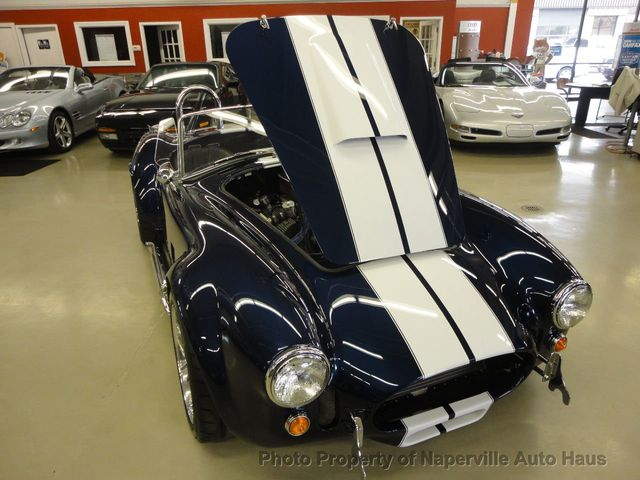 1965 Ford Cobra  - Click to see full-size photo viewer