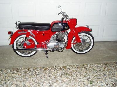 1965 HONDA CA95 150 BENLY DREAM