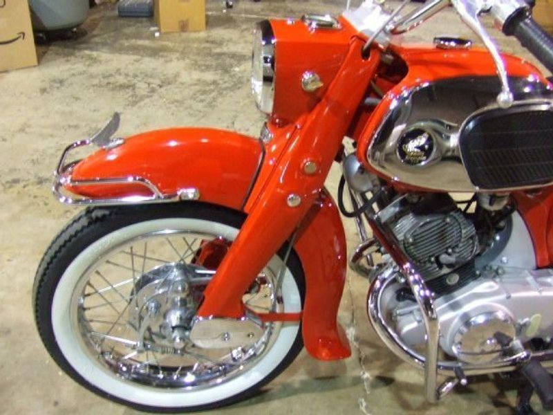 1965 HONDA CA95 150 BENLY DREAM  - 823575 - 19