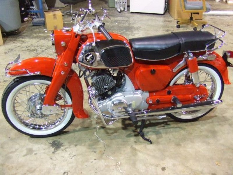 1965 HONDA CA95 150 BENLY DREAM  - 823575 - 2