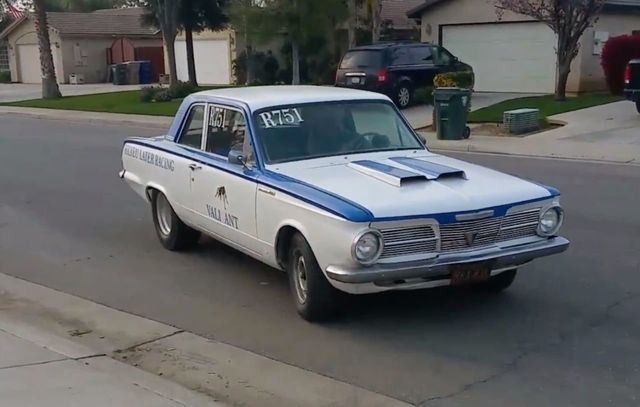 1965 used plymouth valiant race car at webe autos serving long