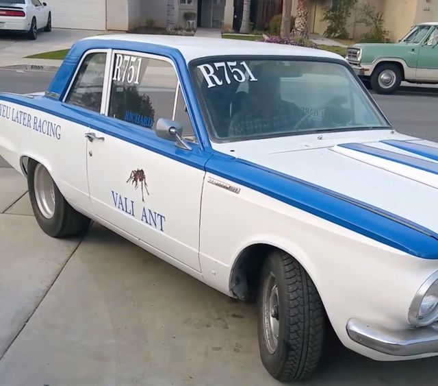 1965 Used Plymouth Valiant Race Car At WeBe Autos Serving