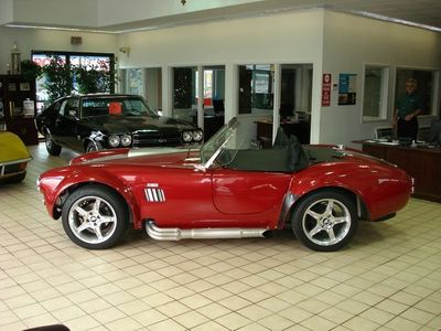 1965 Shelby Cobra Replica SOLD - Click to see full-size photo viewer