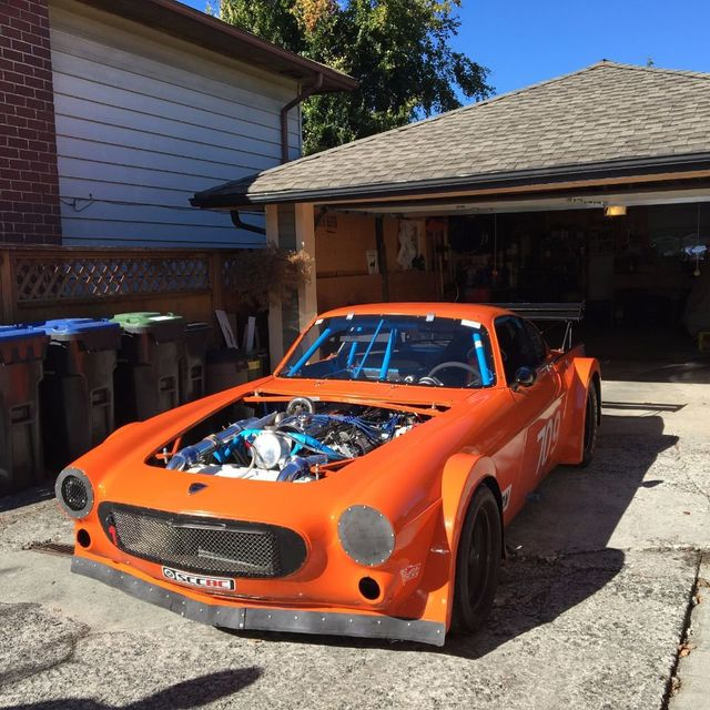 1965 Volvo 1800 RACE CAR REDUCED Coupe For Sale Marietta