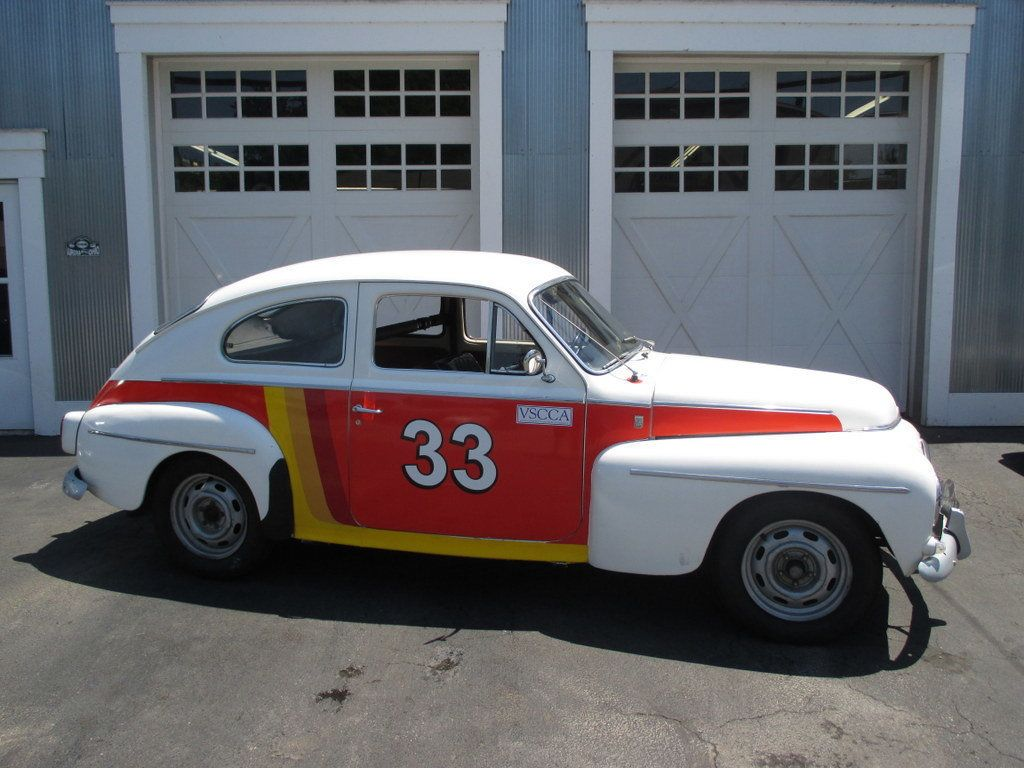 Ford Dealer York Pa 1965 Volvo PV 544 Historic Transamerica Rally Car Coupe ...