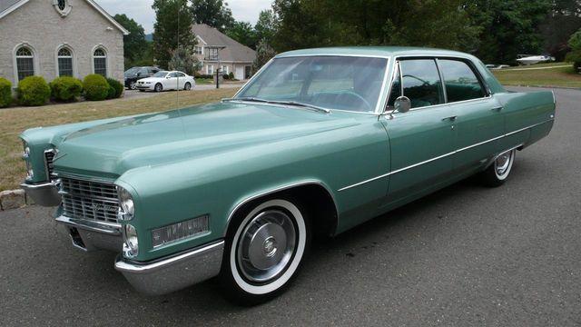 1966 Cadillac Deville Calais Sedan For Sale Ramsey Nj Motorcar Com