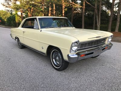 1966 Chevrolet Chevy II Nova SS Chevy II Nova SS Super Sport  - Click to see full-size photo viewer