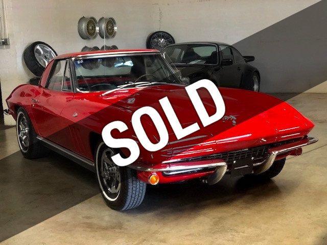 1966 Chevrolet Corvette 1966 Corvette Sting Ray Convertible for Sale Miami,  FL - $59,500 - Motorcar com