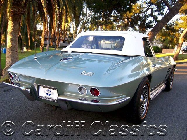 1966 Used Chevrolet Corvette 327ci 350hp Stingray Roadster