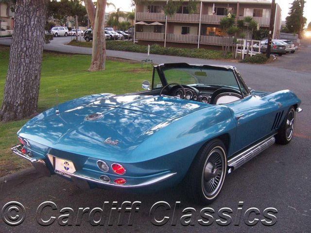 1966 Used Chevrolet Corvette Roadster At Cardiff Classics
