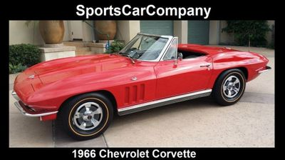1966 Chevrolet Corvette Stingray Corvette Convertible