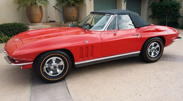 1966 Chevrolet Corvette Stingray Corvette Convertible - 14263741 - 33