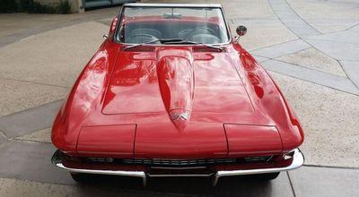 1966 Chevrolet Corvette Stingray Corvette Convertible - Click to see full-size photo viewer