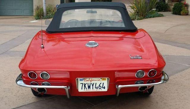 1966 Chevrolet Corvette Stingray Corvette Convertible - 14263741 - 43
