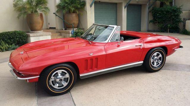 1966 Chevrolet Corvette Stingray Corvette Convertible - 14263741 - 45