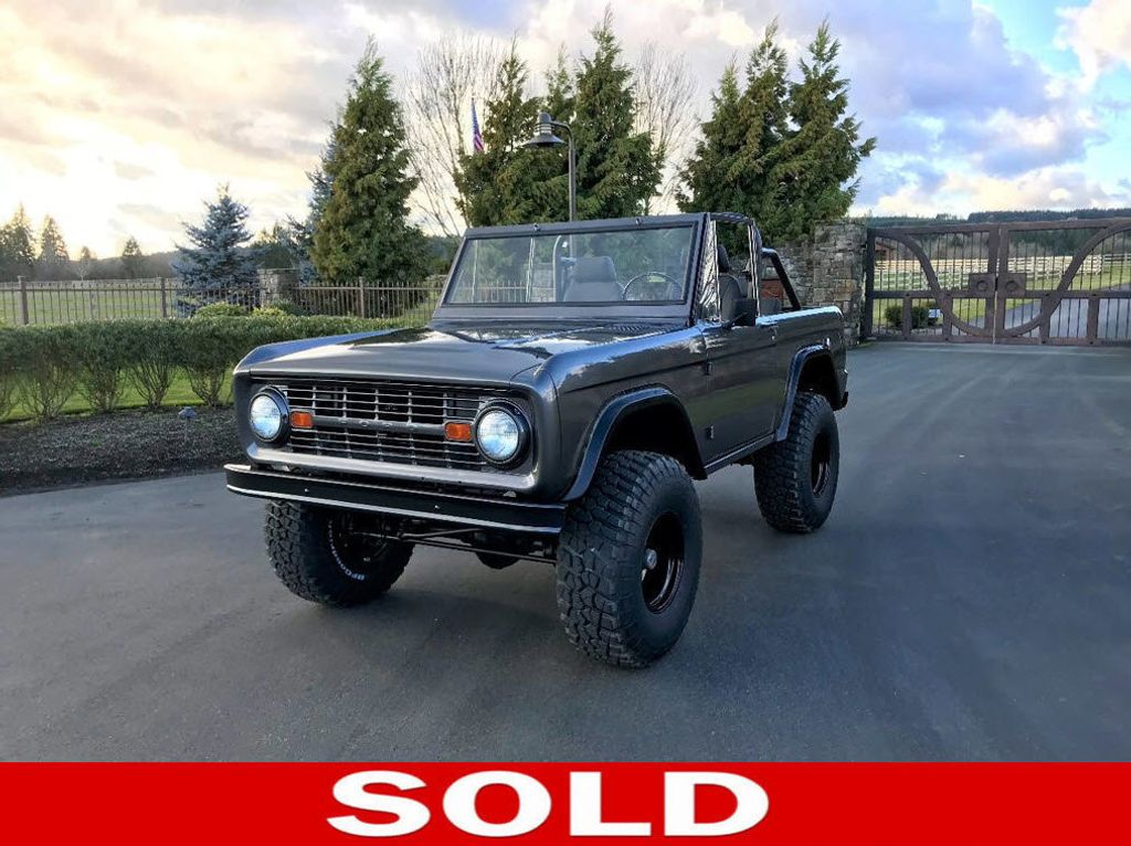 1966 Ford Bronco Fuel Injected 5.0 V8, 5sd, PS, Power Disc Brakes! - 17060331 - 0