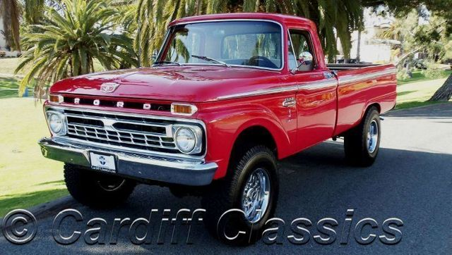 Used Ford 4x4 Trucks For Sale >> 1966 Used Ford F250 3 4 Ton At Cardiff Classics Serving Encinitas Iid 7197307