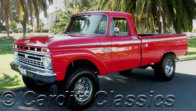 1966 Used Ford F250 3 4 Ton At Cardiff Classics Serving Encinitas Iid 7197307