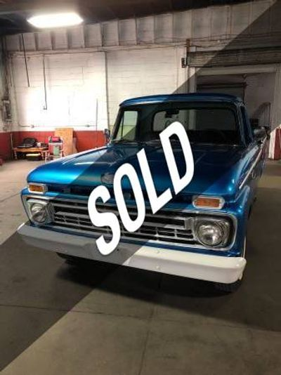 1966 Ford F-100  Coupe
