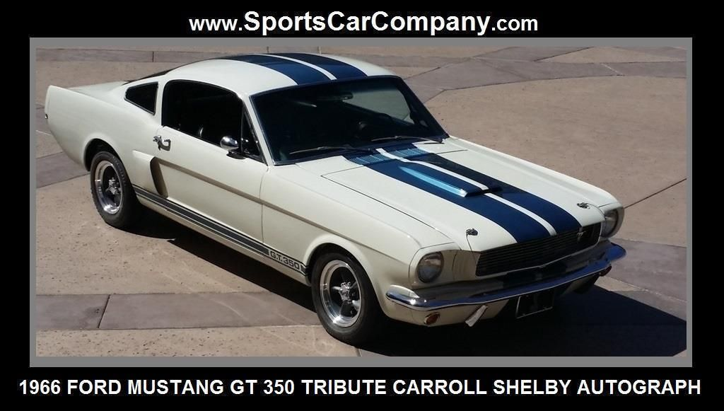 1966 Ford Mustang Shelby GT 350 Tribute