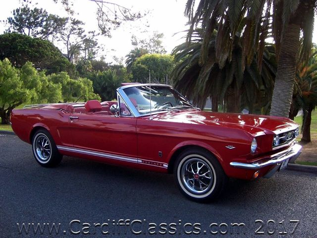 1966 Ford Mustang GT Convertible  - Click to see full-size photo viewer
