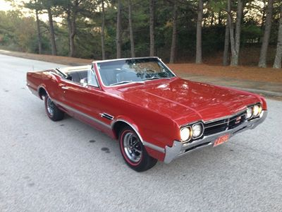 1966 Oldsmobile 442 Convertible F-85 Cutlass 4-4-2 Performance Package