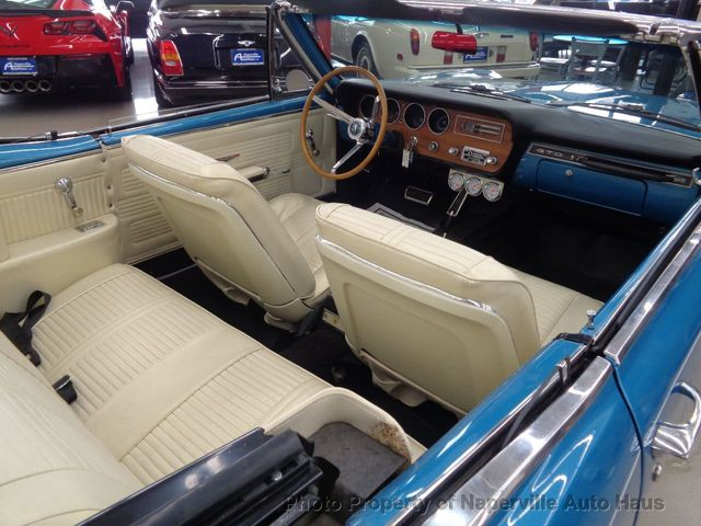 1966 PONTIAC LEMANS GTO Clone Convertible - Click to see full-size photo viewer
