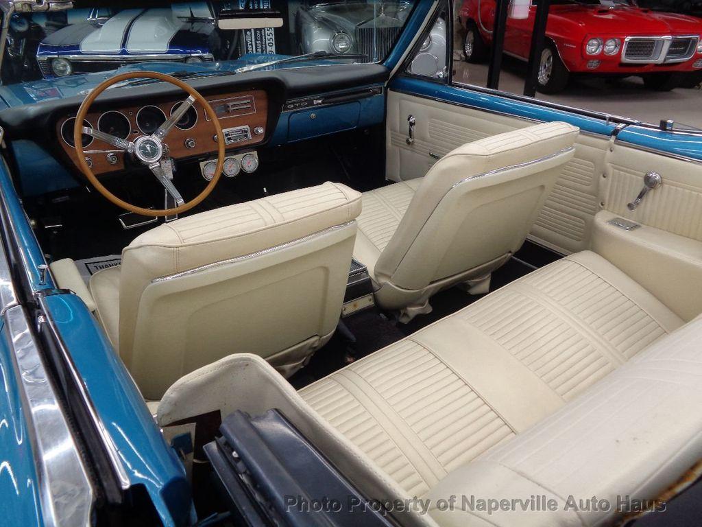 1966 PONTIAC LEMANS GTO Clone Convertible - 16661547 - 39