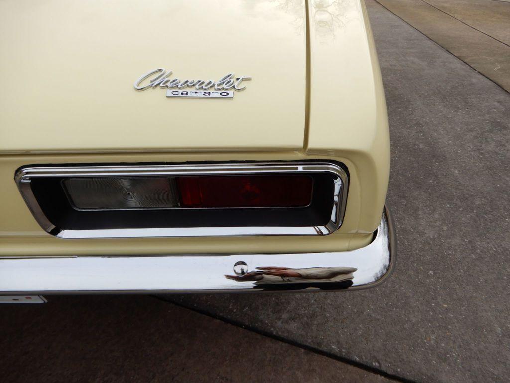1967 CHEVROLET CAMARO SS 350 - 18412513 - 10