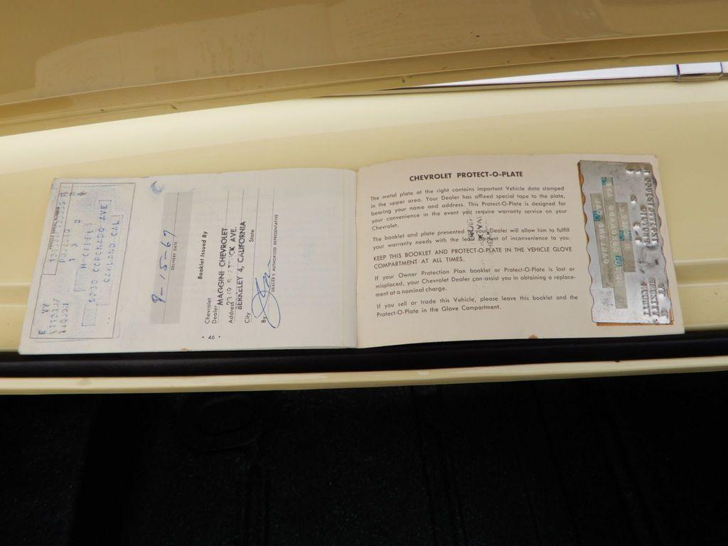 1967 CHEVROLET CAMARO SS 350 - 18412513 - 20