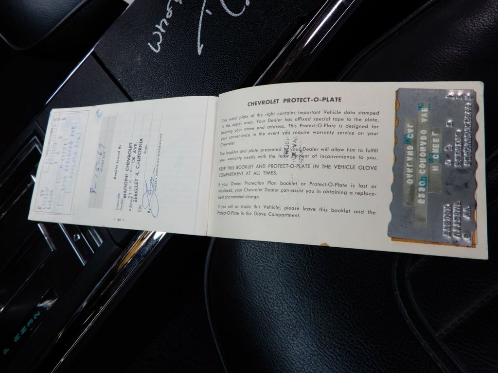 1967 CHEVROLET CAMARO SS 350 - 18412513 - 36