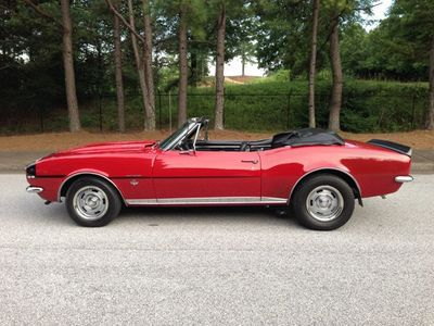 1967 Chevrolet Camaro RS RS Rally Sport Convertible - Click to see full-size photo viewer