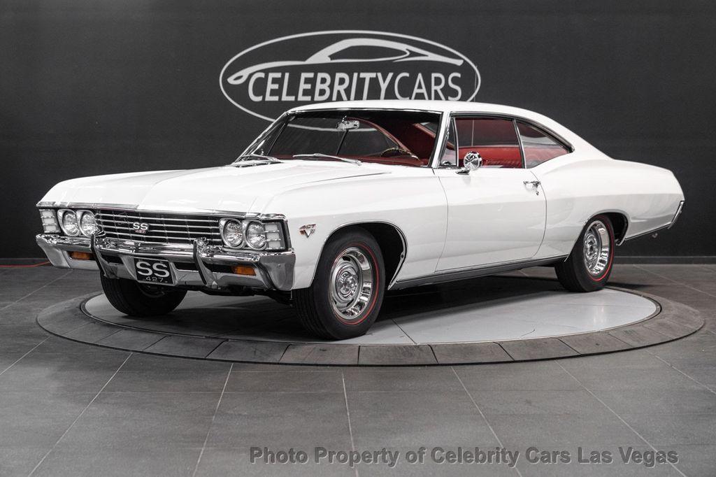 1967 Chevrolet Impala 427 SS Sport Coupe - 18081736 - 18