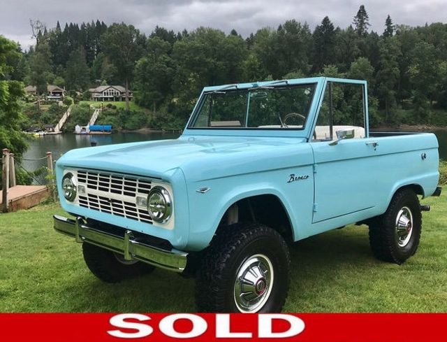 1967 Ford Bronco LUBR! 302 V8, Power Steering and Disc Brakes!  - 17785181 - 0