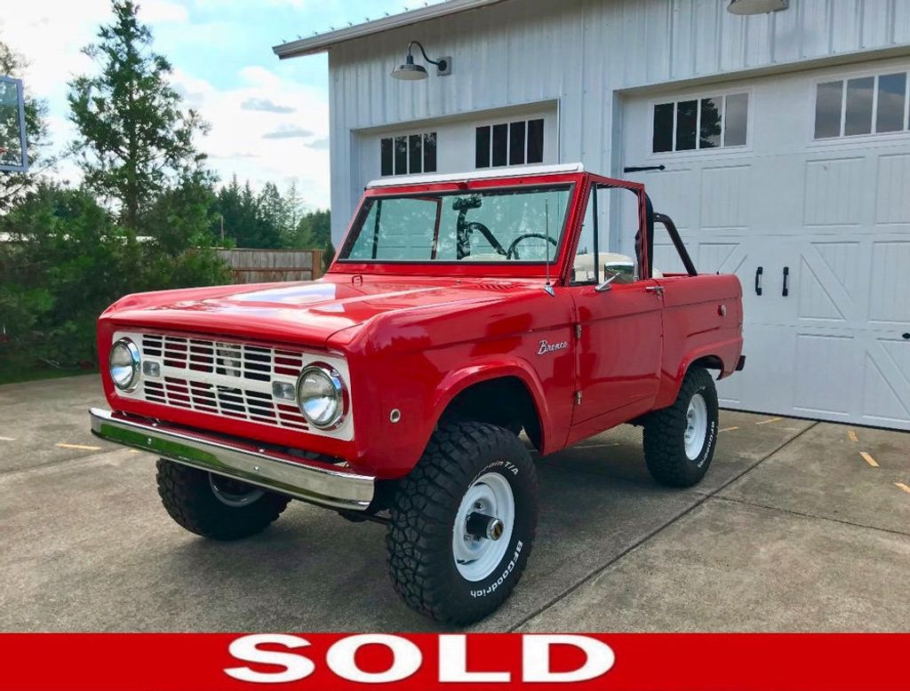 1967 Ford Bronco LUBR! Stock and Super Clean - 17585239 - 0