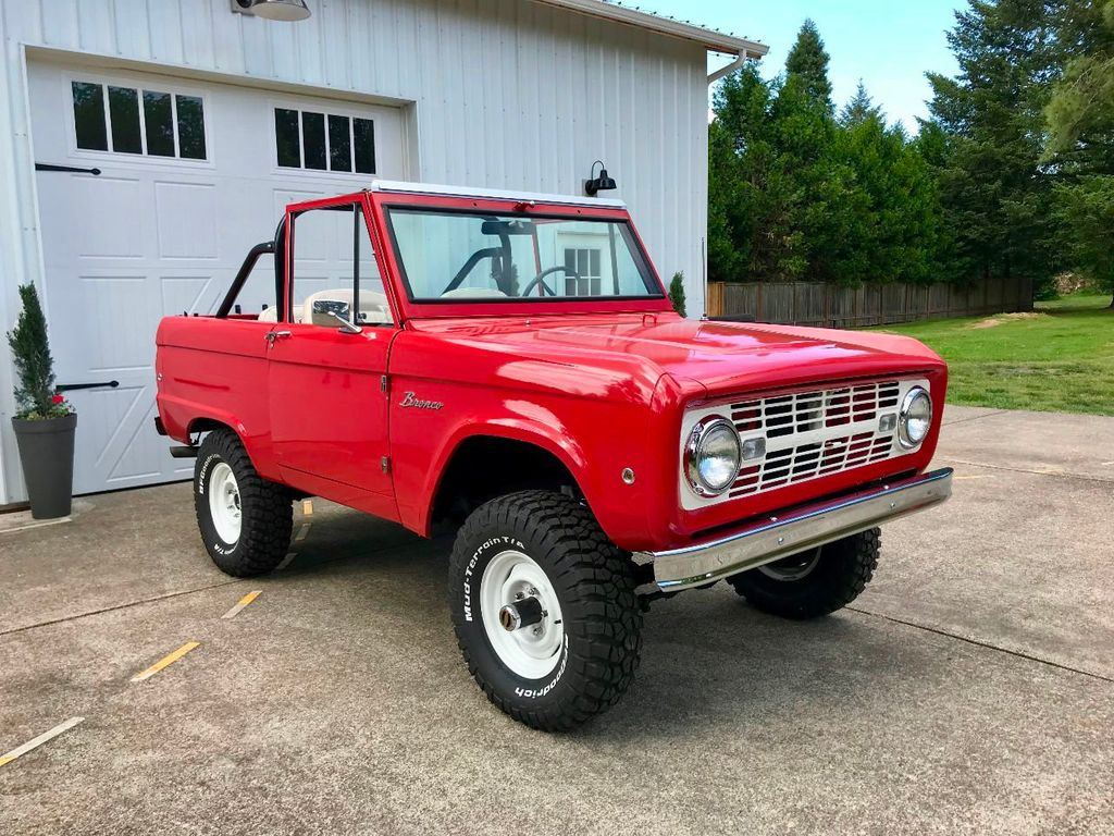 1967 Ford Bronco LUBR! Stock and Super Clean - 17585239 - 2
