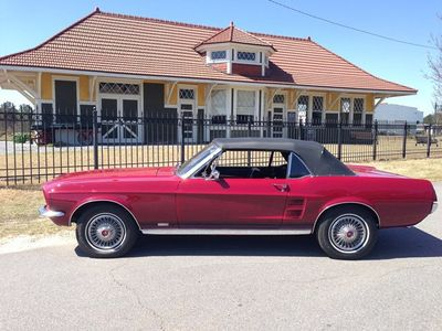 1967 Ford Mustang Convertible SOLD - Click to see full-size photo viewer