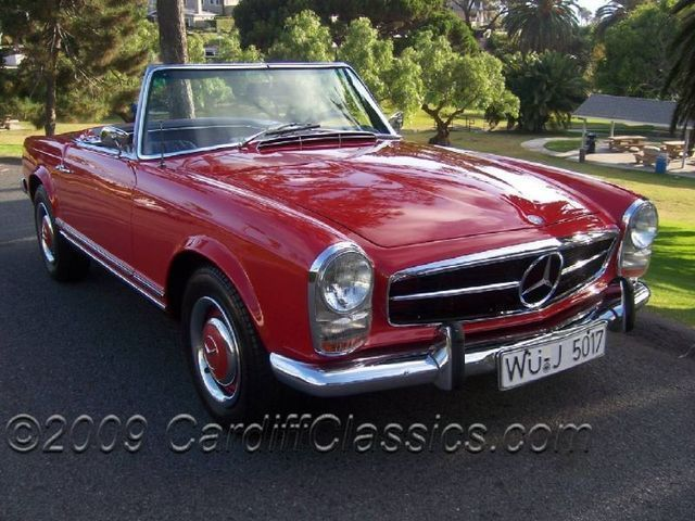 1967 Used Mercedes-Benz 230SL Roadster at Cardiff Classics Serving ...