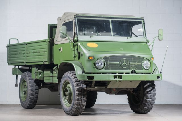 Mercedes Benz Unimog >> 1967 Mercedes Benz Unimog Truck Regular Cab Extra Long Bed For