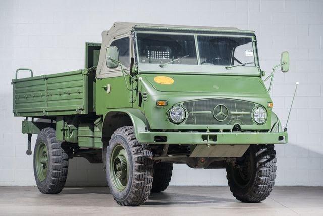 1967 Mercedes Benz Unimog Truck Regular Cab Extra Long Bed For