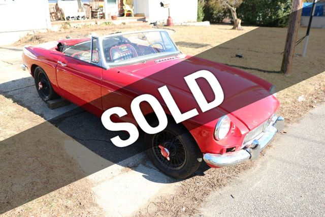 1967 MG MGB Project Convertible for Sale Riverhead, NY - $6,495 -  Motorcar com