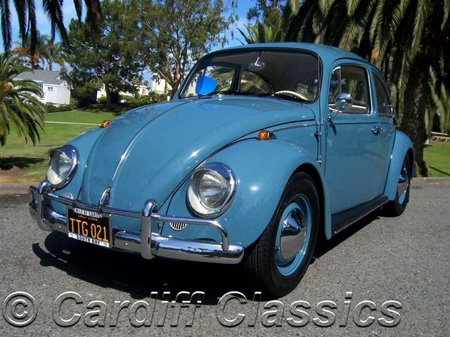 1967 used volkswagen beetle delux sedan at cardiff classics serving encinitas iid 12541296. Black Bedroom Furniture Sets. Home Design Ideas