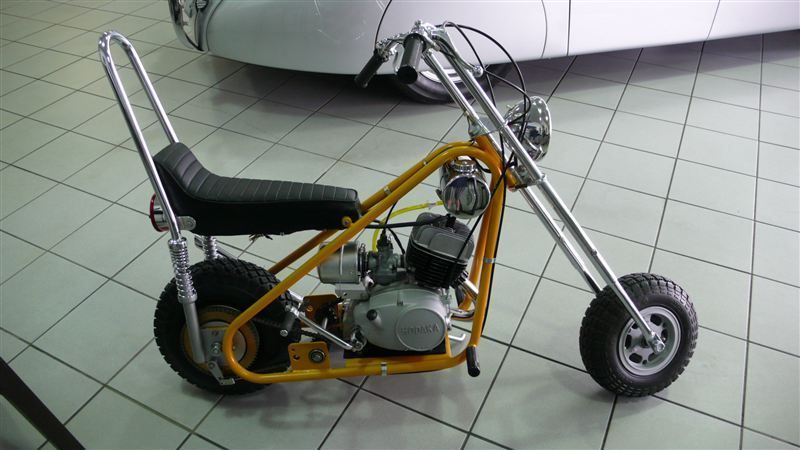 Vintage Mini Bike Chopper : Used bonanza cr chopper at find great
