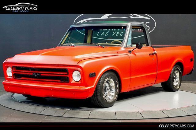 Chevrolet Las Vegas >> 1968 Used Chevrolet C10 Custom At Celebrity Cars Las Vegas Nv Iid 19289155