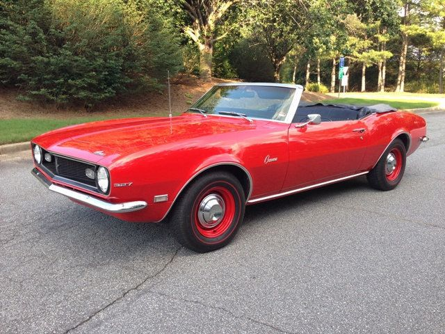 1968 Chevrolet Camaro SOLD Convertible for Sale Duluth, GA - $29,900 -  Motorcar com
