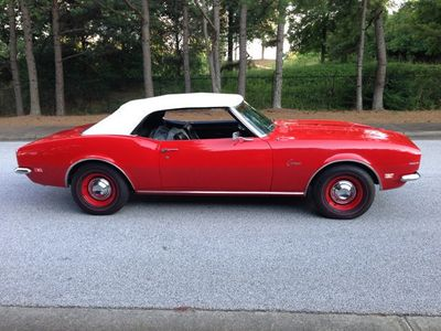 1968 Chevrolet Camaro SOLD Convertible - Click to see full-size photo viewer