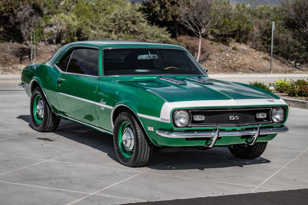 1968 Used Chevrolet Camaro Ss At Cnc Motors Inc Serving Upland